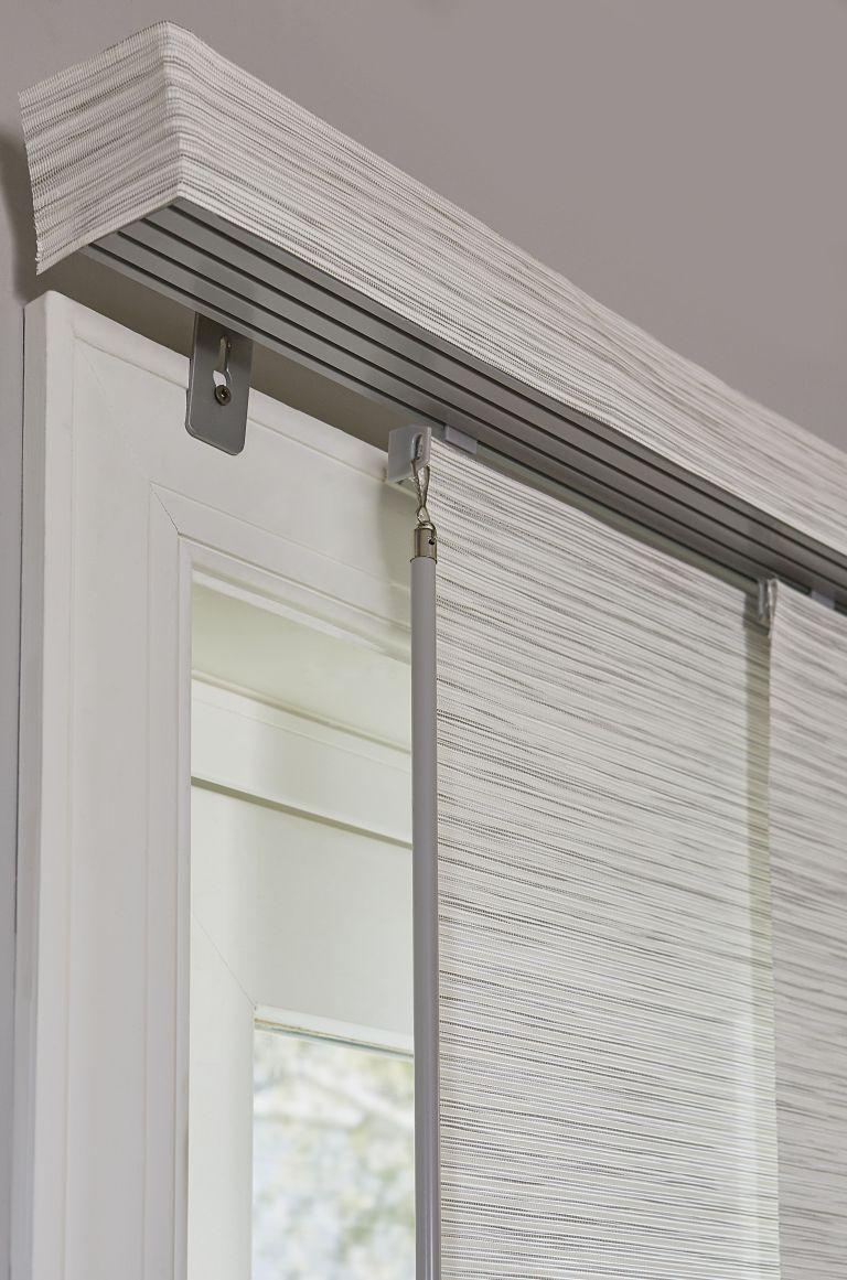 The Best Vertical Blinds Alternatives For Sliding Glass Doors Sliding Glass Door Window Treatments Door Coverings Sliding Glass Door Coverings