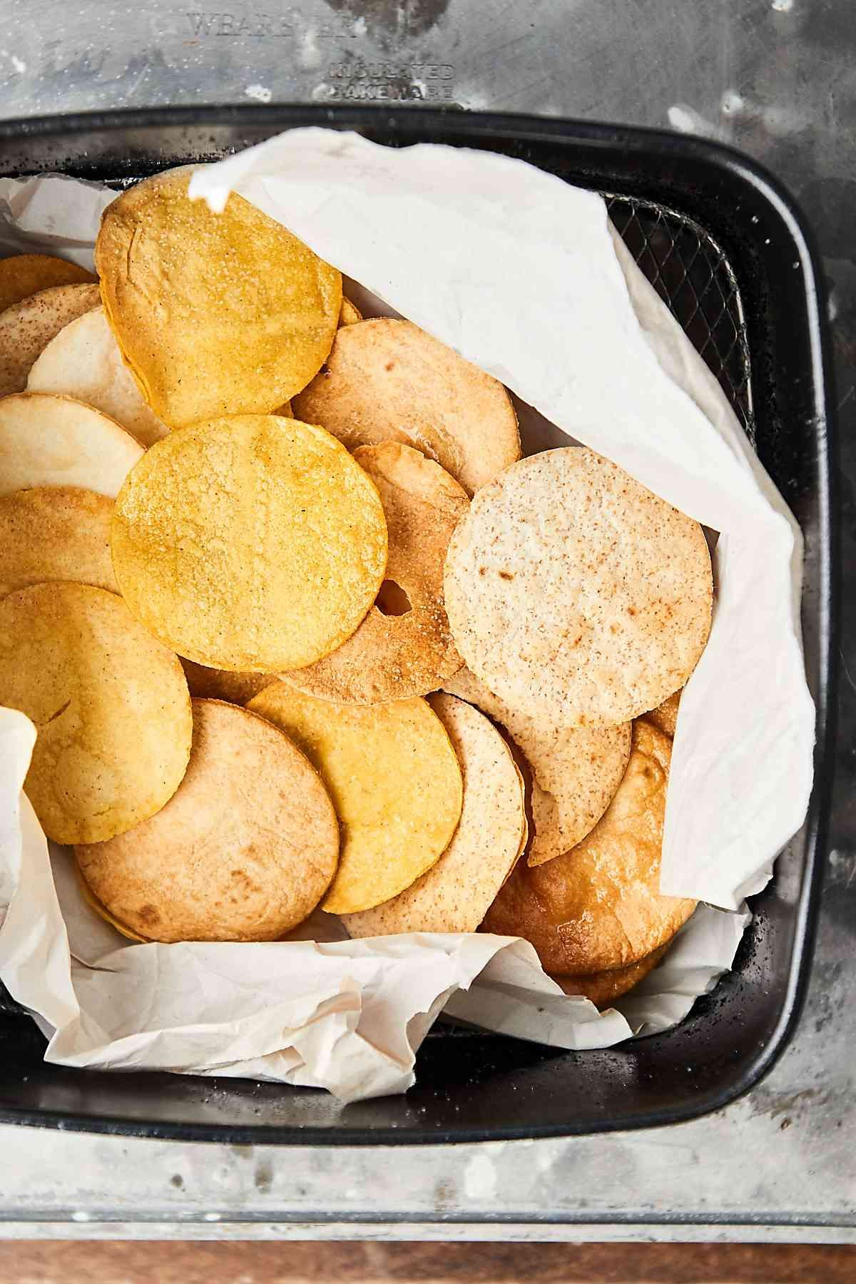 Air fryer tortilla chips recipe chips recipe low carb