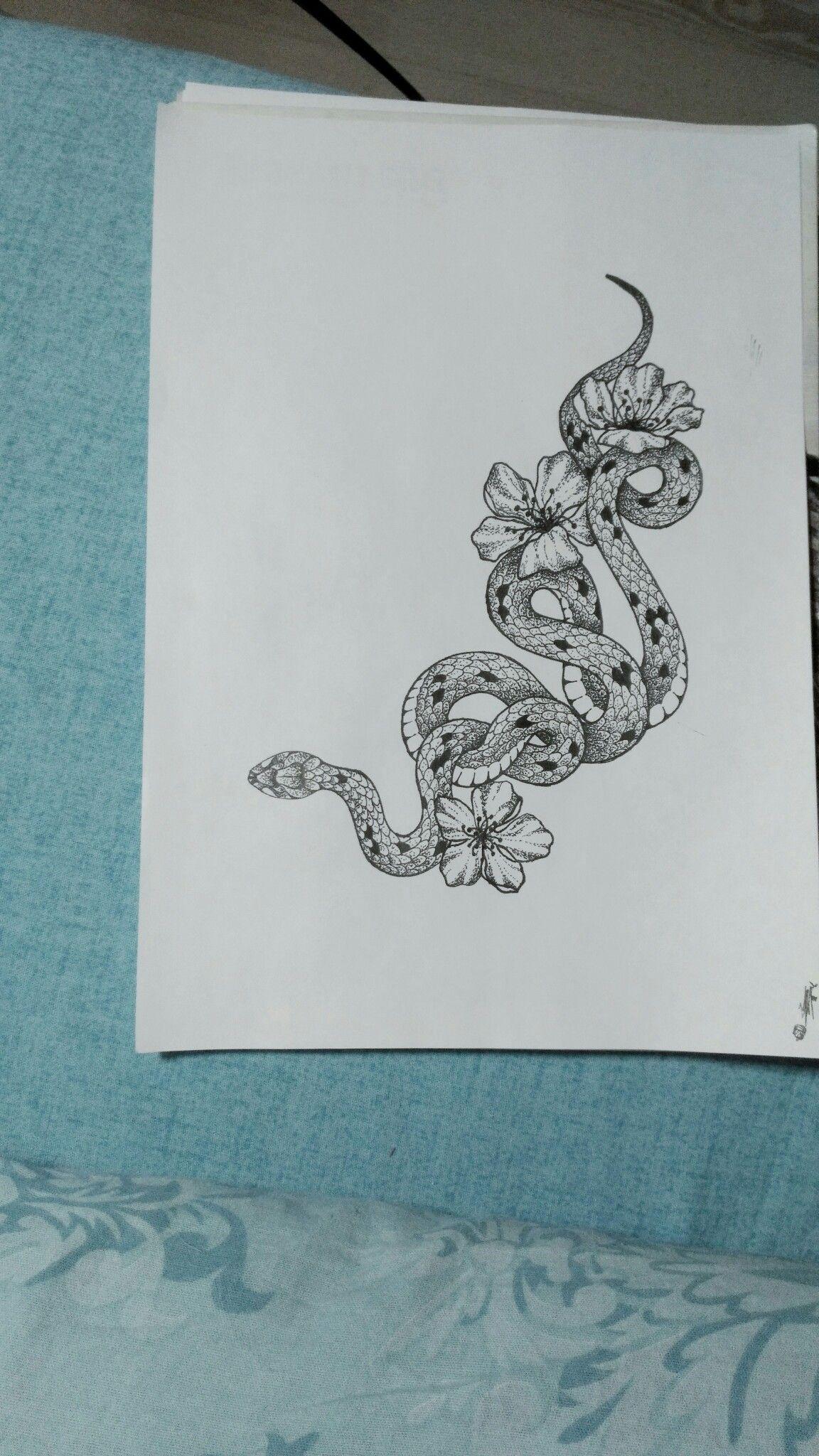 эскиз для татуировки татуировка змея эскиз татузмеи