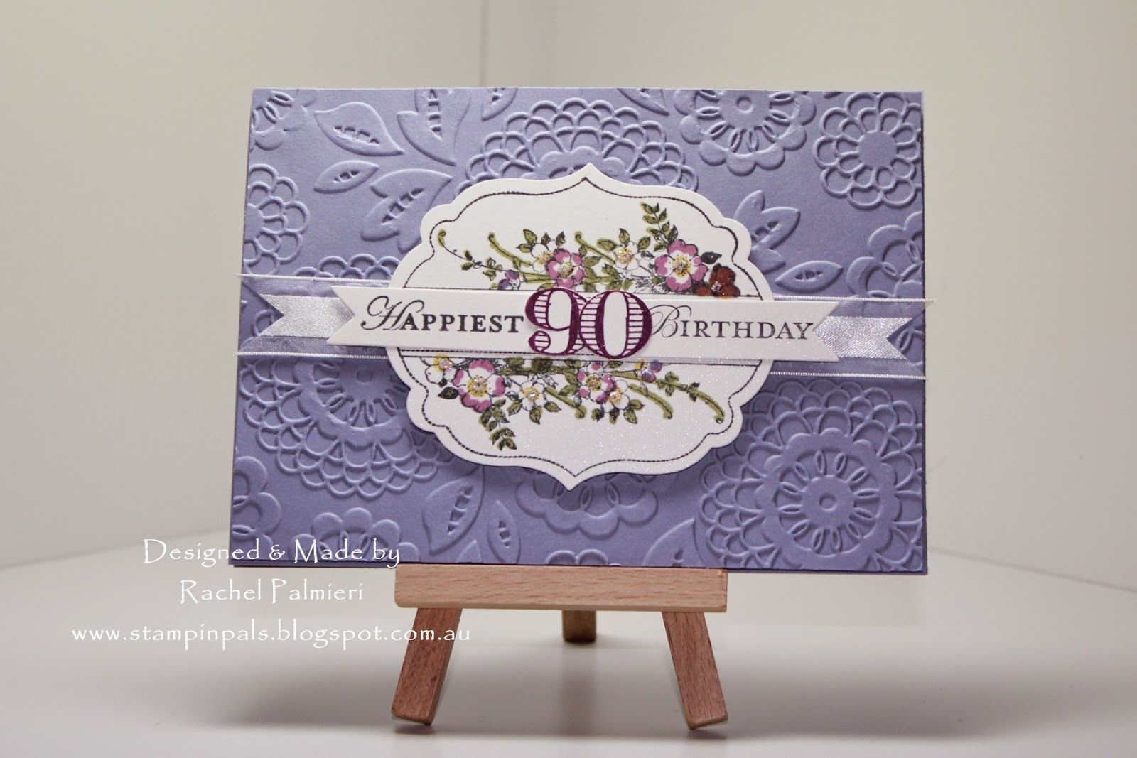 Stampin' Pals: Lavender and Lace SSC89