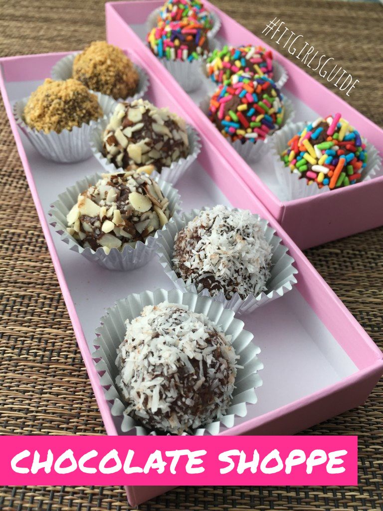 Fit Girls Guide Chocolate Recipe Makes 22. 60 calories each. ONLY ...