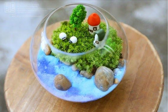 Bowl Decoration Ideas Glass Fish Bowls Decorations Rocks Plants  Glass Staircase