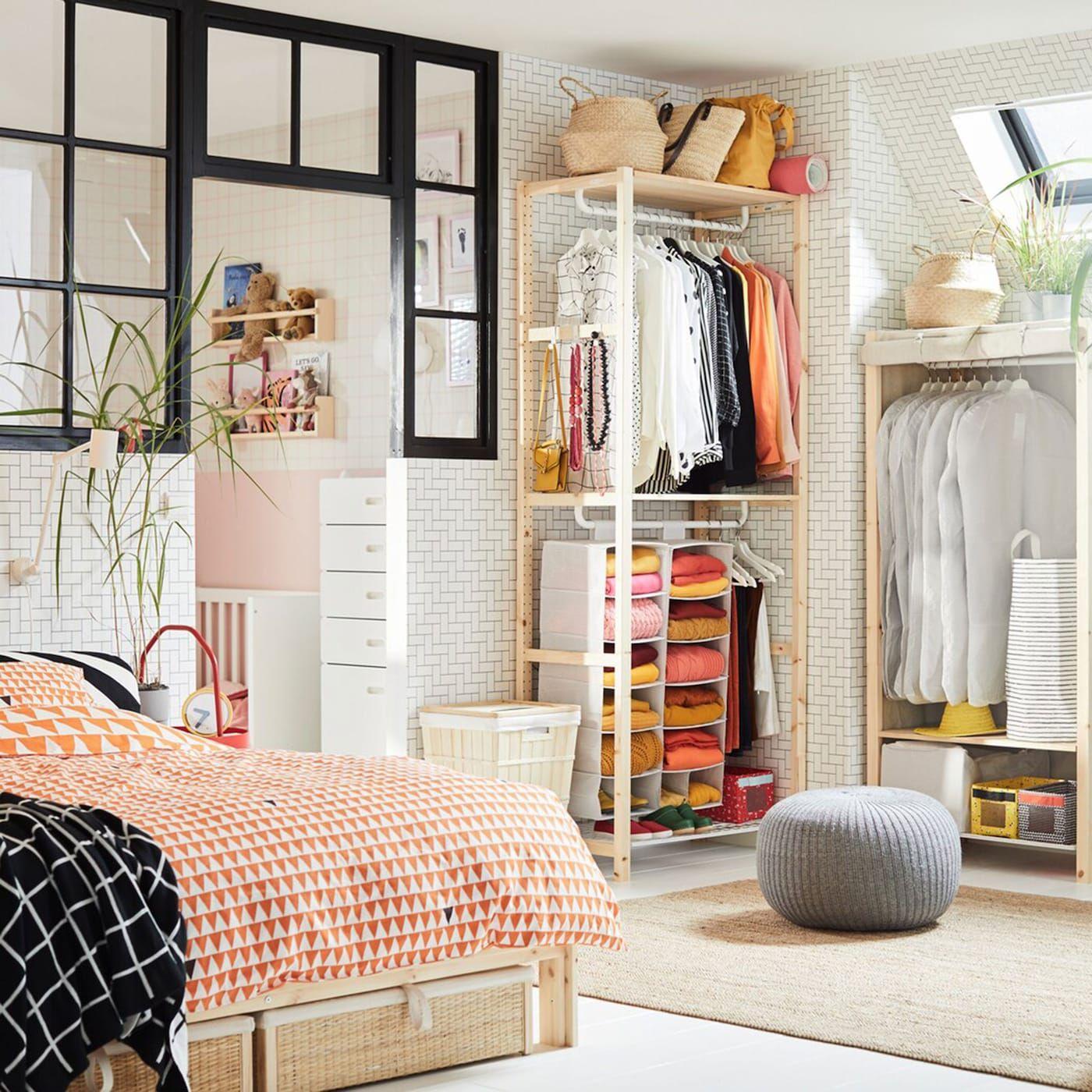 Bedroom Storage Made Easy Ikea Small