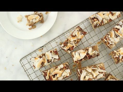 Cowboy Coconut Bars - Everyday Food with Sarah Carey - YouTube