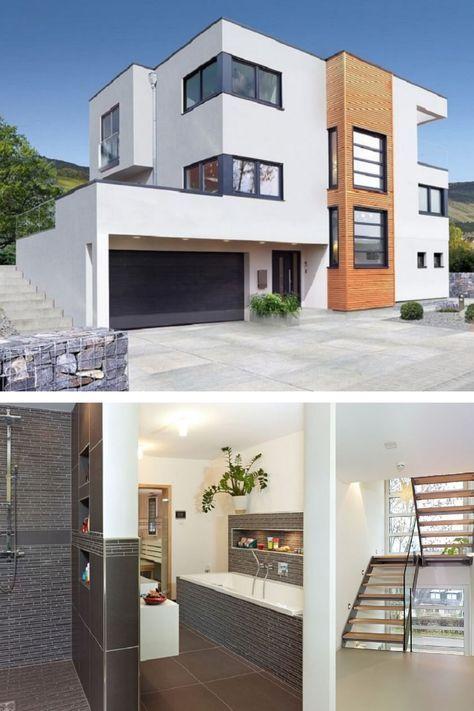 DESIGNHAUS Bauhausstil - Haus Trier von STREIF Haus - Moderne ...