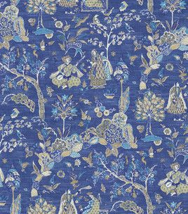 Gorgeous Chinoiserie Fabric Home Decor Fabric Chinoiserie Fabric Fabric Wall Panels