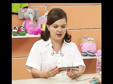 Sapatinho Lorena com Jaqueline Santos | Vitrine do Artesanato na TV