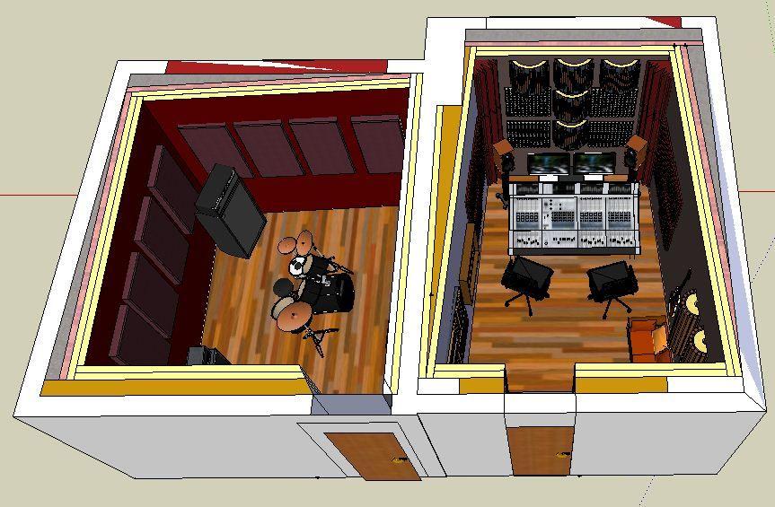 Small Professional Home Recording Studio In Italy Gearslutz