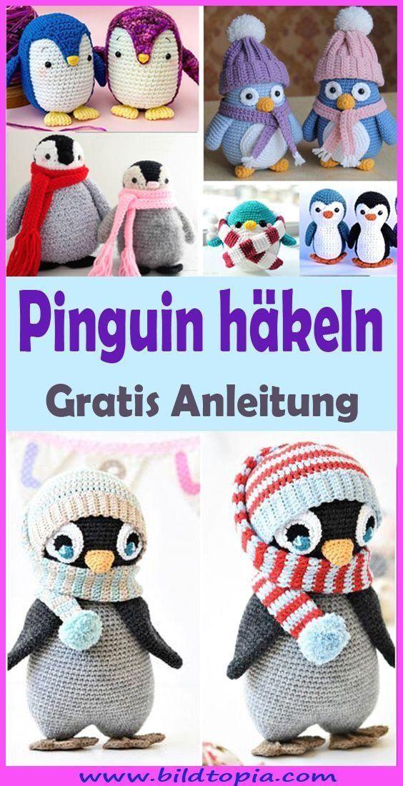 #Amigurumi  #Anleitung  #diy baby clothes  #diy baby girl  #diy baby headbands  #diy baby room  #diy baby stuff  #einfache  #häkeln  #Kostenlose  #Pinguin #Häkeltier #häkeln, Du möchtest ein Häkeltier häkeln, das voll im Trend liegt? In dieser gratis DIY Anleitung zeige ich dir, wie du einen süßen Pinguin häkeln kannst. Pinguine sind Ideal zum Verschenken und Dekorieren, aber auch zum Spielen! Häkle Dir jetzt selbst einen zauberhaften Pinguin. Du brauchst nur Wolle, die kostenlose Anleitung &