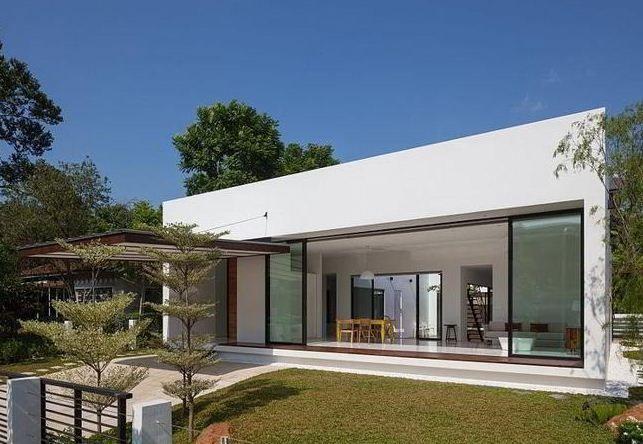 Casas minimalistas fachadas modernas casa minimalista for Viviendas minimalistas