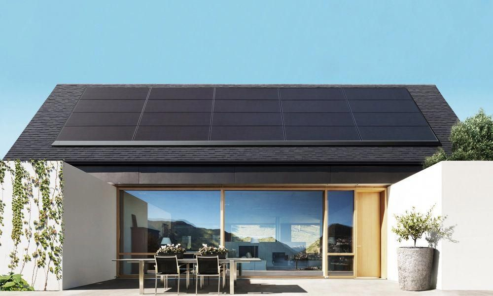 Tesla's Solar Panels Don't Look Like Other Solar Panels