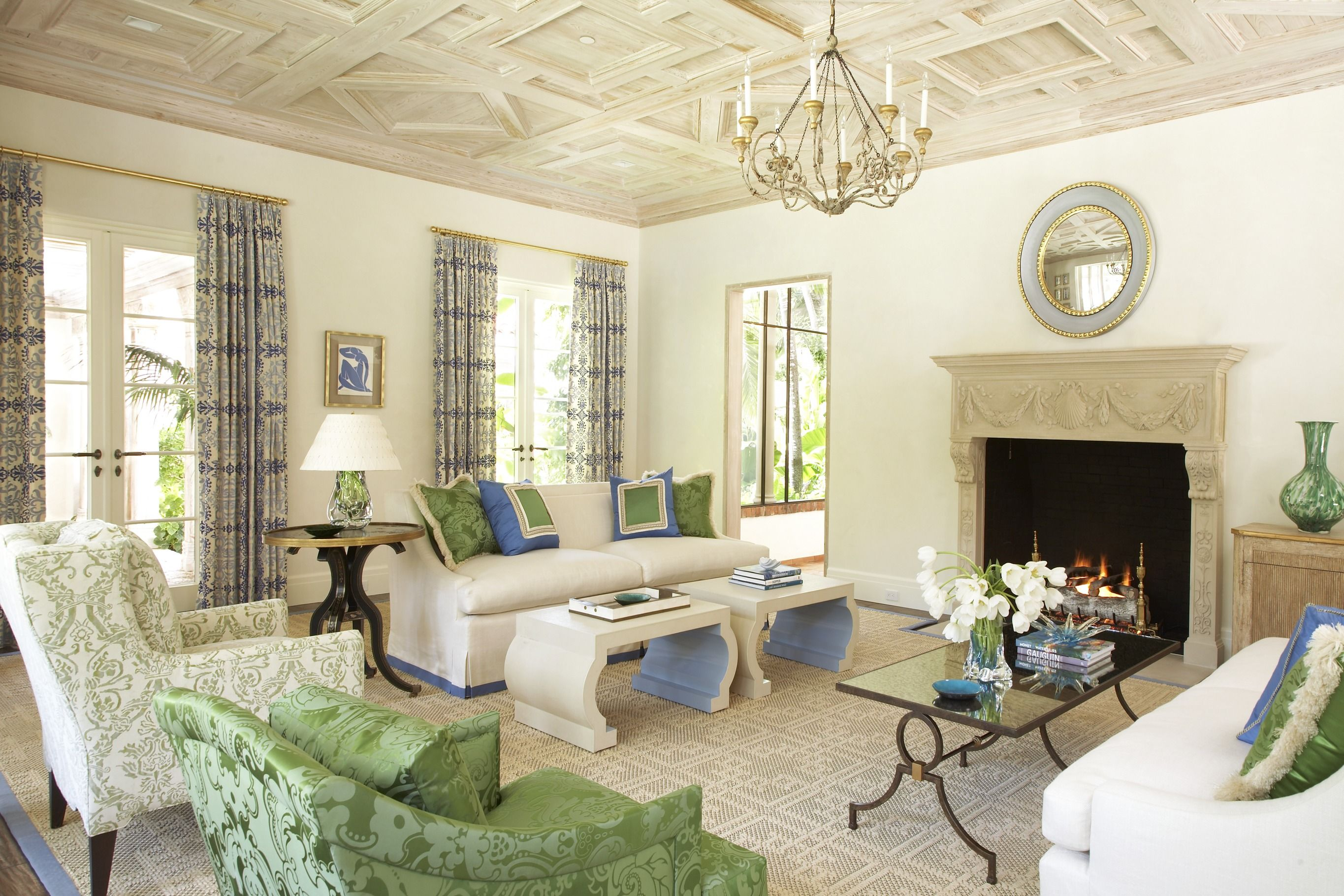 By tastefully blending traditional elements with contemporary flourishes everything old is new again in this historic century old florida home