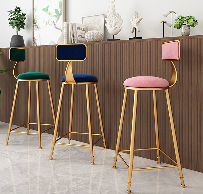 Welcome To The Victor Verace Bar Stool Collection The Gold Velvet