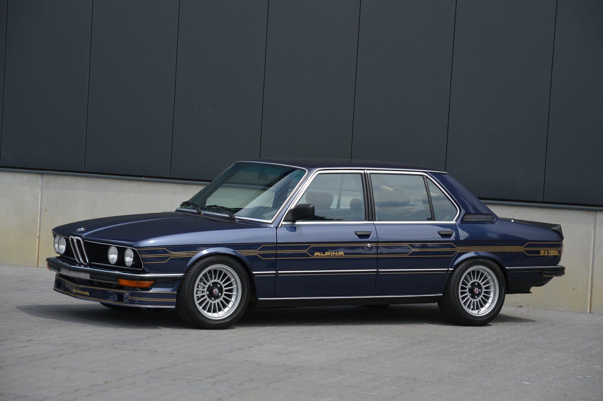 1981 82 E12 Alpina B7 S Turbo Classic Bmw Bmw Bmw Alpina Bmw