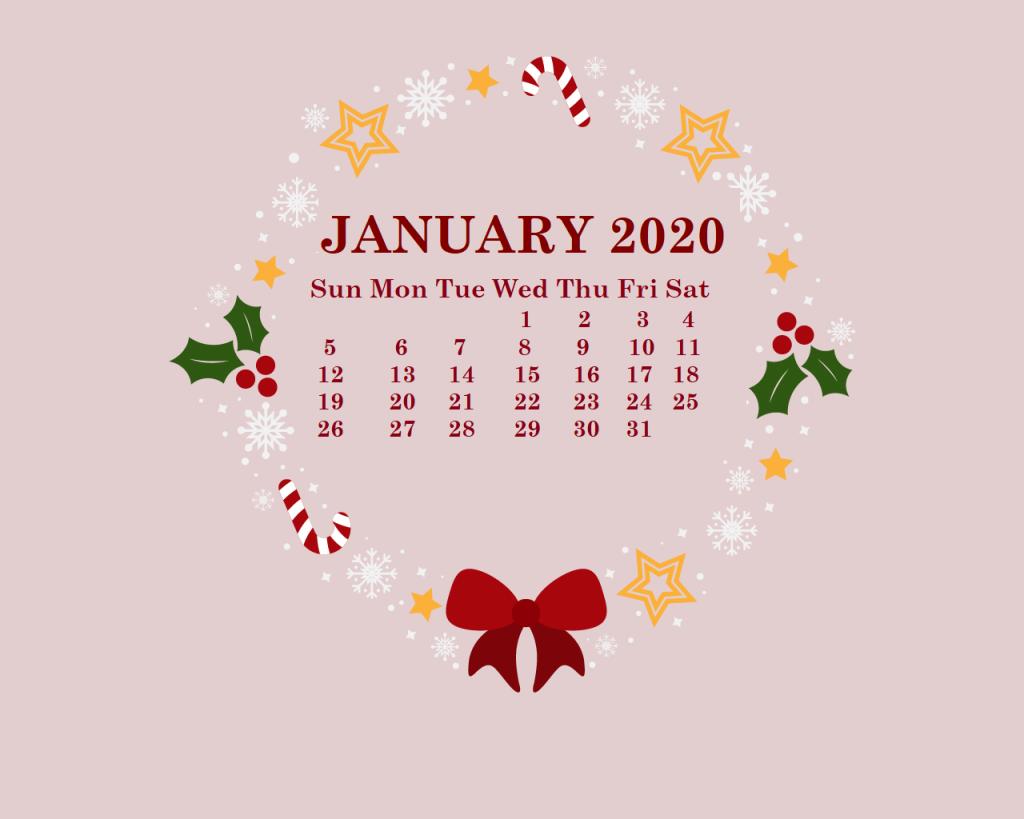 Free 2020 HD Calendar Wallpaper Calendar wallpaper