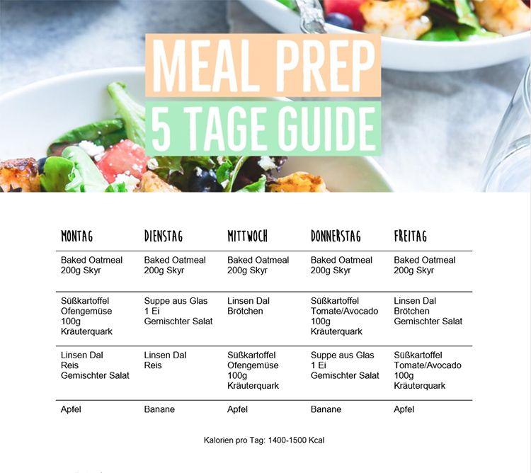 1500 Kalorien Diät in 5 Mahlzeiten