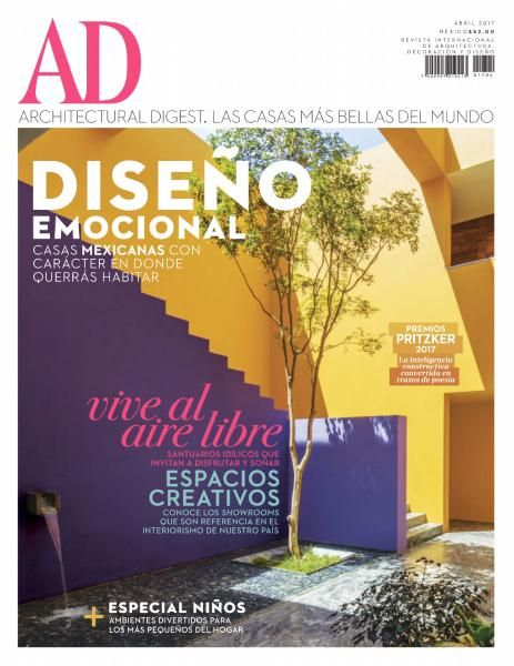 Architectural Digest Mexico - Abril 2017