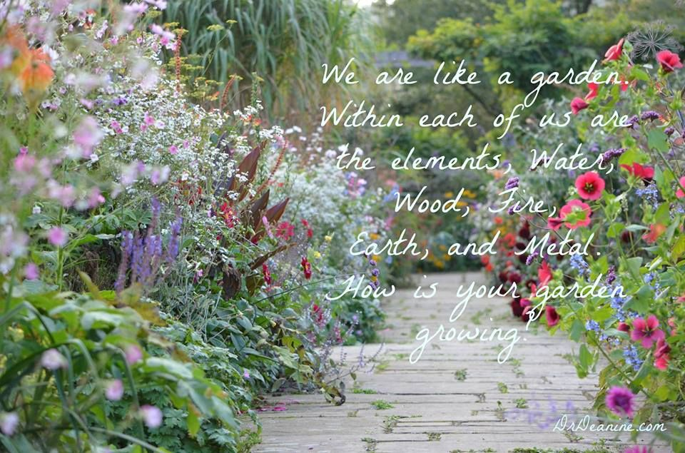 We are like a garden