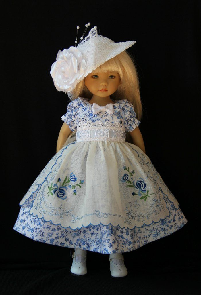 English Garden OOAK Outfit for Effner 13\