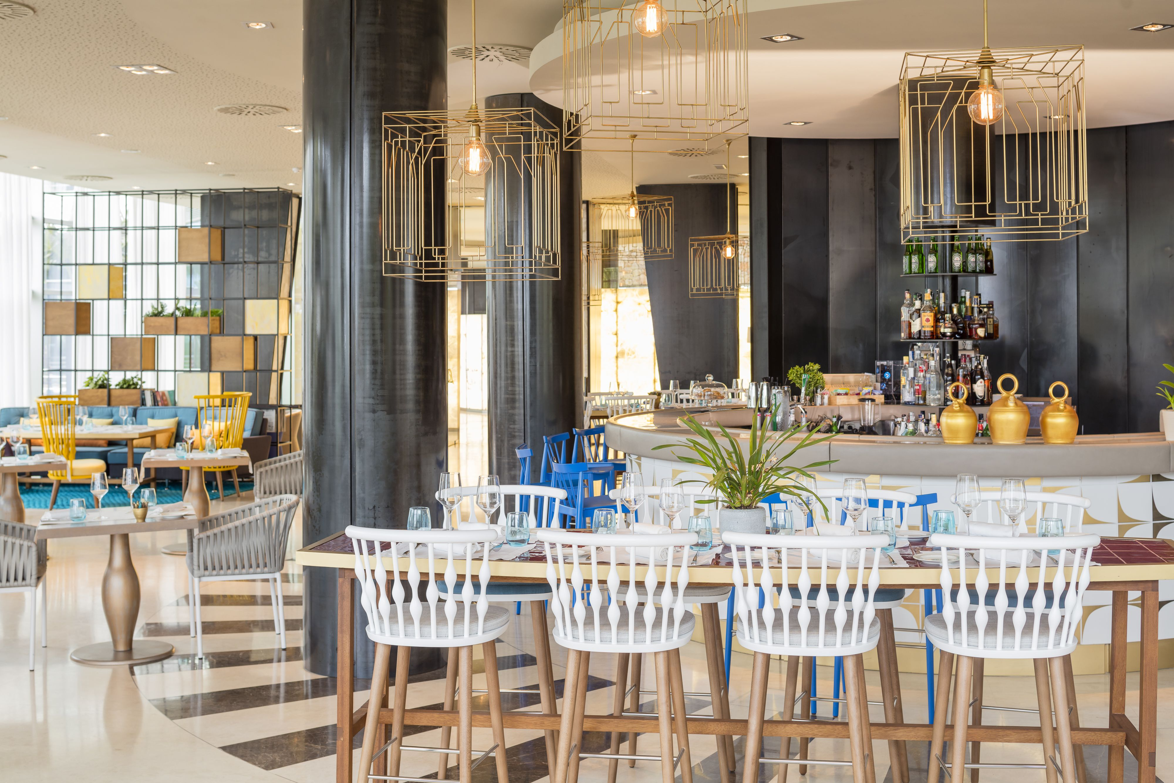 Restaurante En Ibiza Santa Eulalia Aguas De Ibiza Sky Wedding  # Muebles Tiziano Santa Cruz