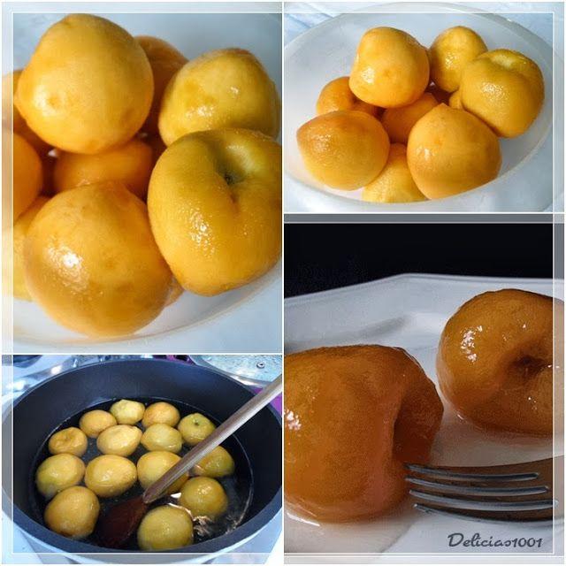 http://www.delicias1001.com.br/2013/09/pessegos-em-calda.html     Aproveitando a safra dos pêssegos , não tive como resistir a essa delíci...