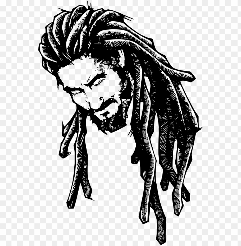 Free Download Dreadlocks Art Clipart Dreadlocks Drawing Rasta Drawings Png Image With Transparent Background Png Free Png Images Drawings Art Clipart Art