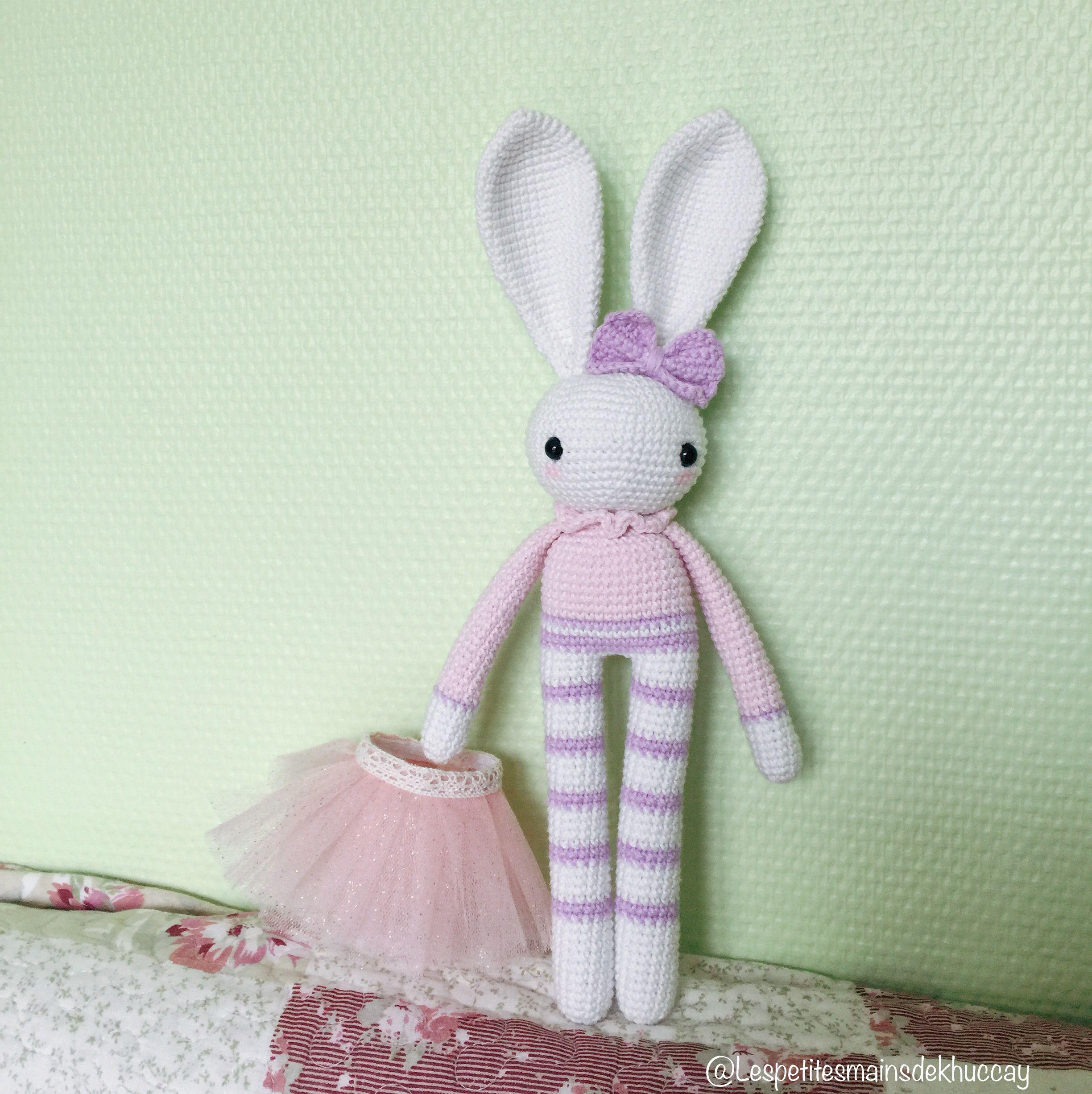 amigurumi lapin doudou enfant naissance kit crochet entrecrochet   2452x2448