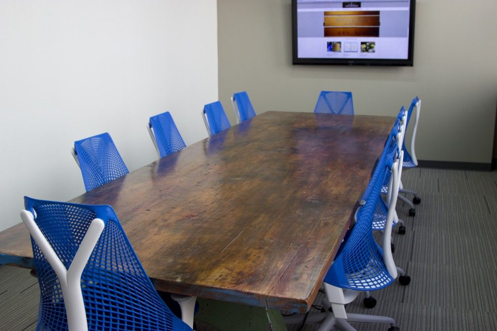 Our Conference Room Is Much Larger Than Our Last Grommet HQ - Conference room table grommets