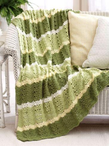 Lacy Ripples   Yarn   Free Knitting Patterns   Crochet Patterns ...