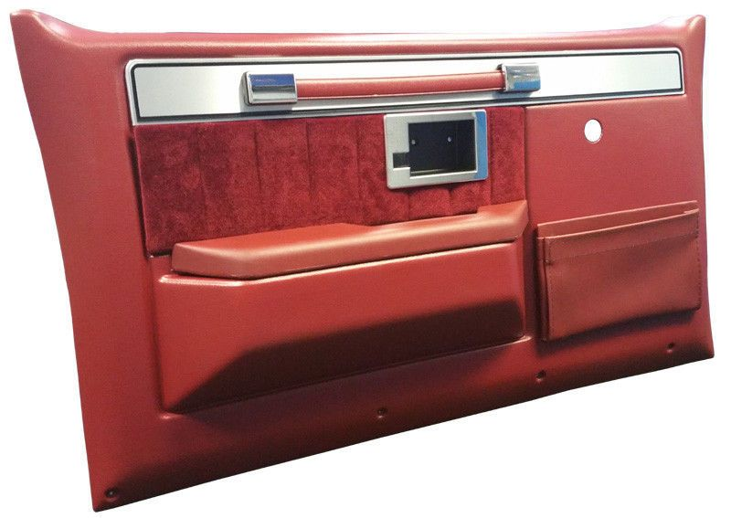 1981 91 Chevy Silverado Truck Door Panels Complete Carmine Red Pair Chevy Trucks Chevy Trucks Silverado Silverado Truck