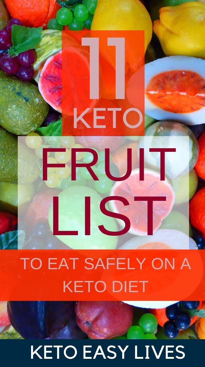 Keto Fruits List #ketodietforbeginners