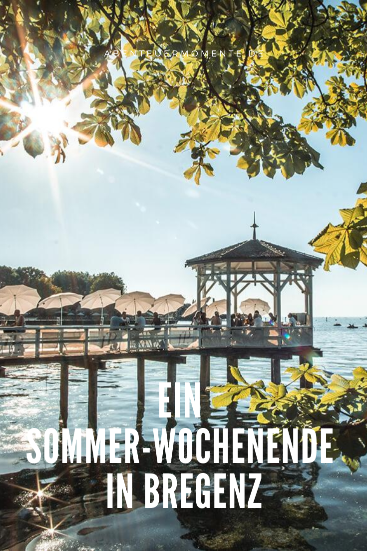 Ein Sommer Wochenende In Bregenz In 2020 Bregenz Sehenswurdigkeiten Reiseblog