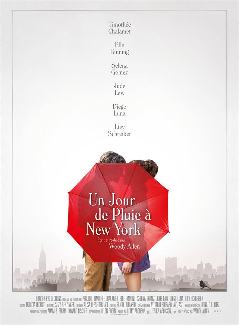 Affiche Du Film Un Jour De Pluie A New York Affiche 1 Sur 1 Allocine Diego Luna Jour De Pluie Film
