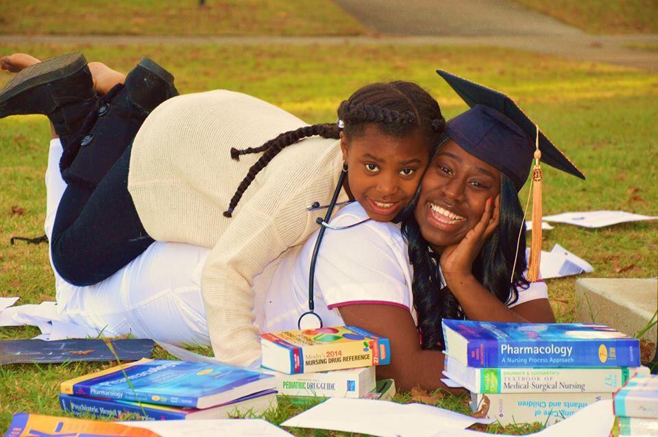 My biggest motivator !!! Nursing graduation, Graduation
