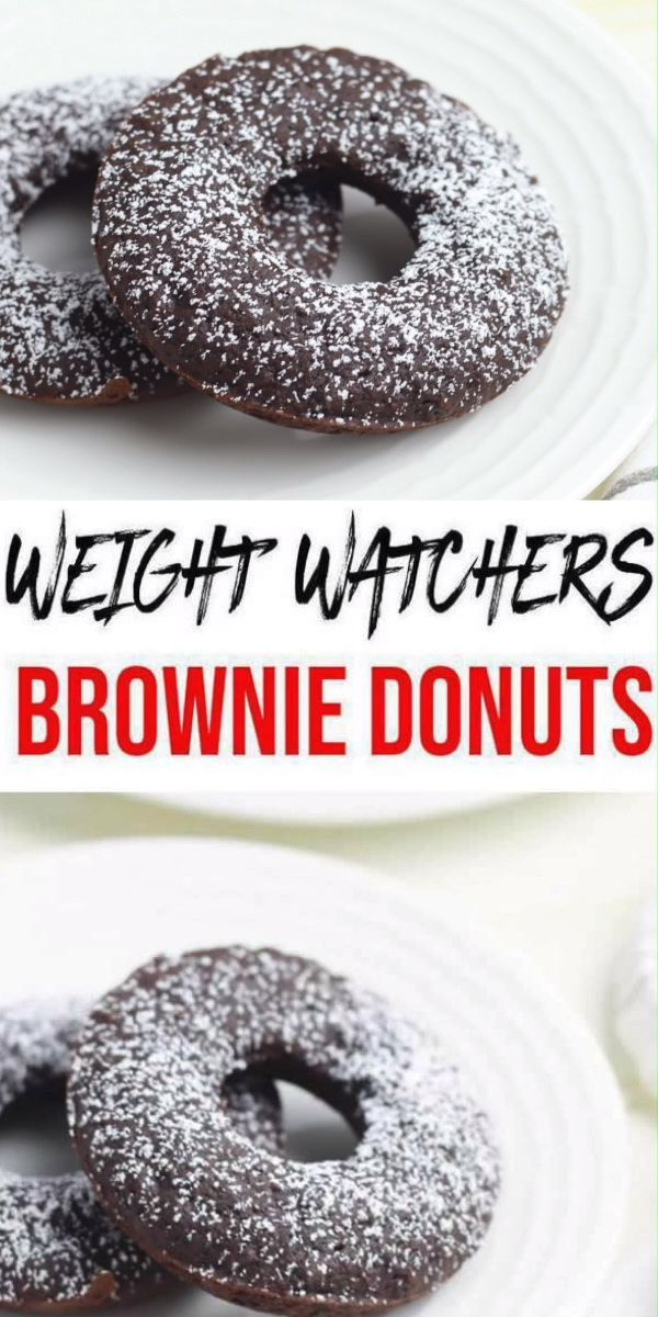 Weight Watchers Brownie Donuts – BEST WW Recipe – Dessert – Breakfast – Treat – Snack with Smart Points