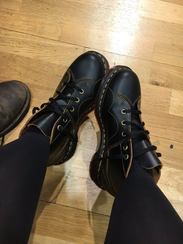 Dr martens church smooth leather monkey boots | Boots, Shoe