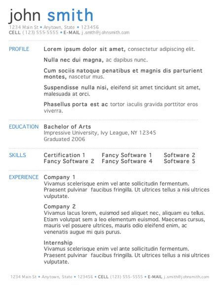 resume template skylogic templates download free general labor excel resume template - Excel Resume Template
