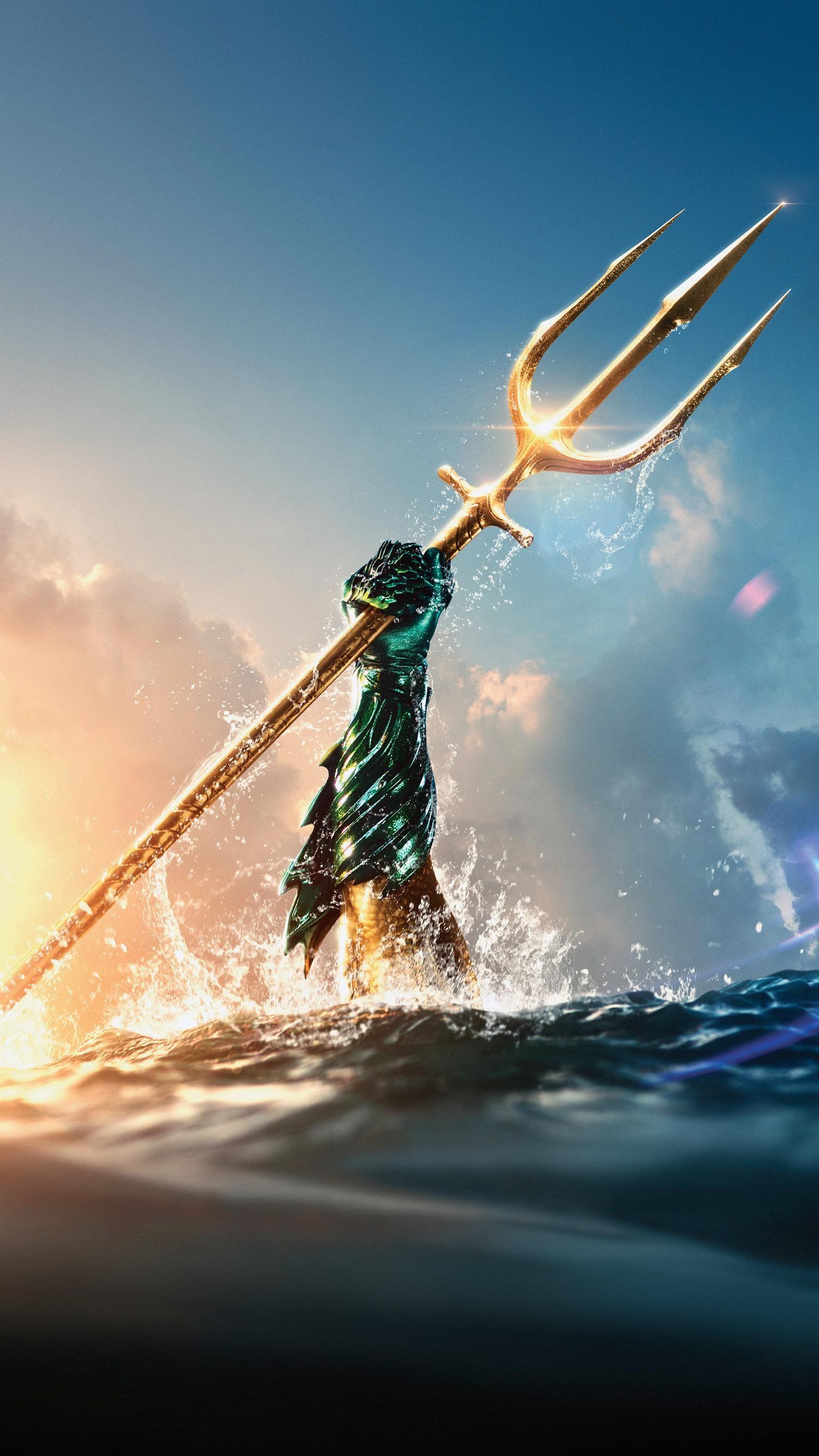 Aquaman (2018) Phone Wallpaper | Moviemania