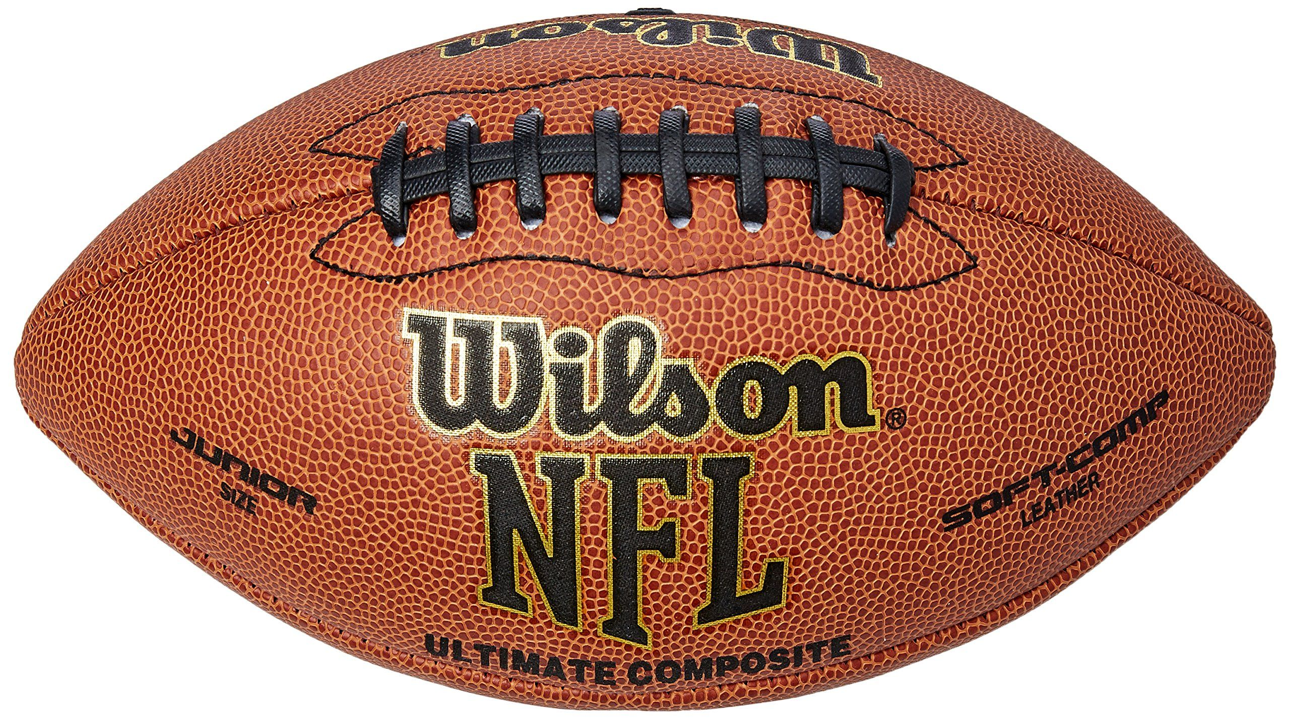5f5d9a145f2 Wilson Ultimate Composite NFL Junior Football. High-quality composite  football for 9 to 12