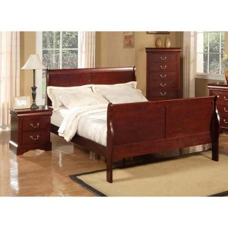 Louis Philippe II 2-Pc Bedroom Set (Queen) PC, Queens and Bedrooms