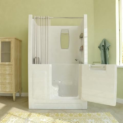 Superb The Walk In Bathtub Showers Are Universal Bath Tubs With All The Stuff You  Need For Your Water Procedures. Shop For The Units In Home Depot.