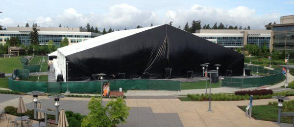 Xbox Reveal Event A Week Away Will Be Held In Giant Tent : giant tent - memphite.com