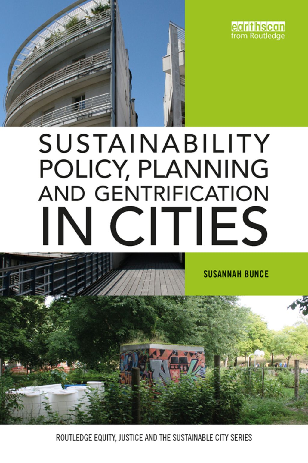 Sustainability Policy Planning And Gentrification In Cities Ebook