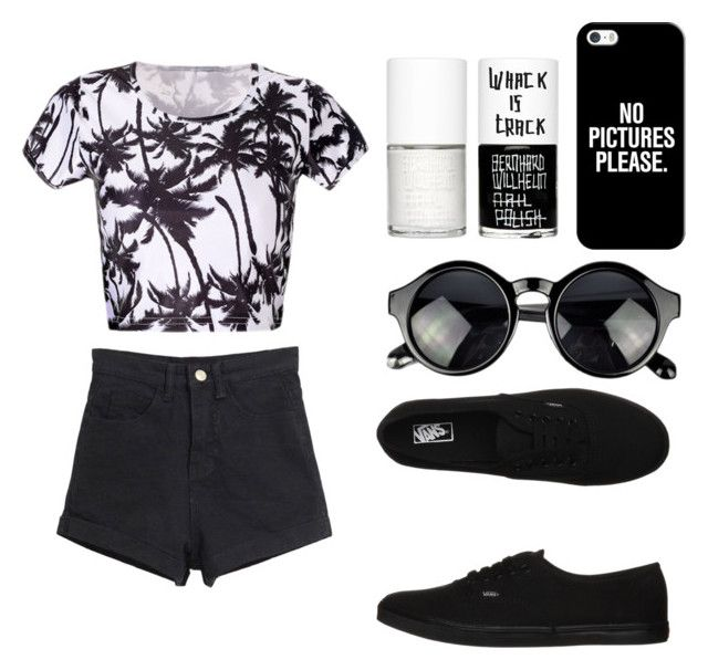 """""""california gurls"""" by lorducci ❤ liked on Polyvore featuring Vans, Casetify and Uslu Airlines"""