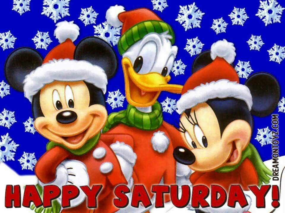 Pin By Karen Pitcher On Happy Saturday Quotes Mickey Mouse Wallpaper Minnie Mouse Christmas Disney Christmas