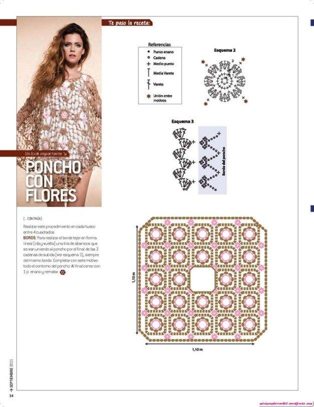 Nube-16_14 | MONA MUR diseños en tejido | Pinterest | Nubes, Mono y ...