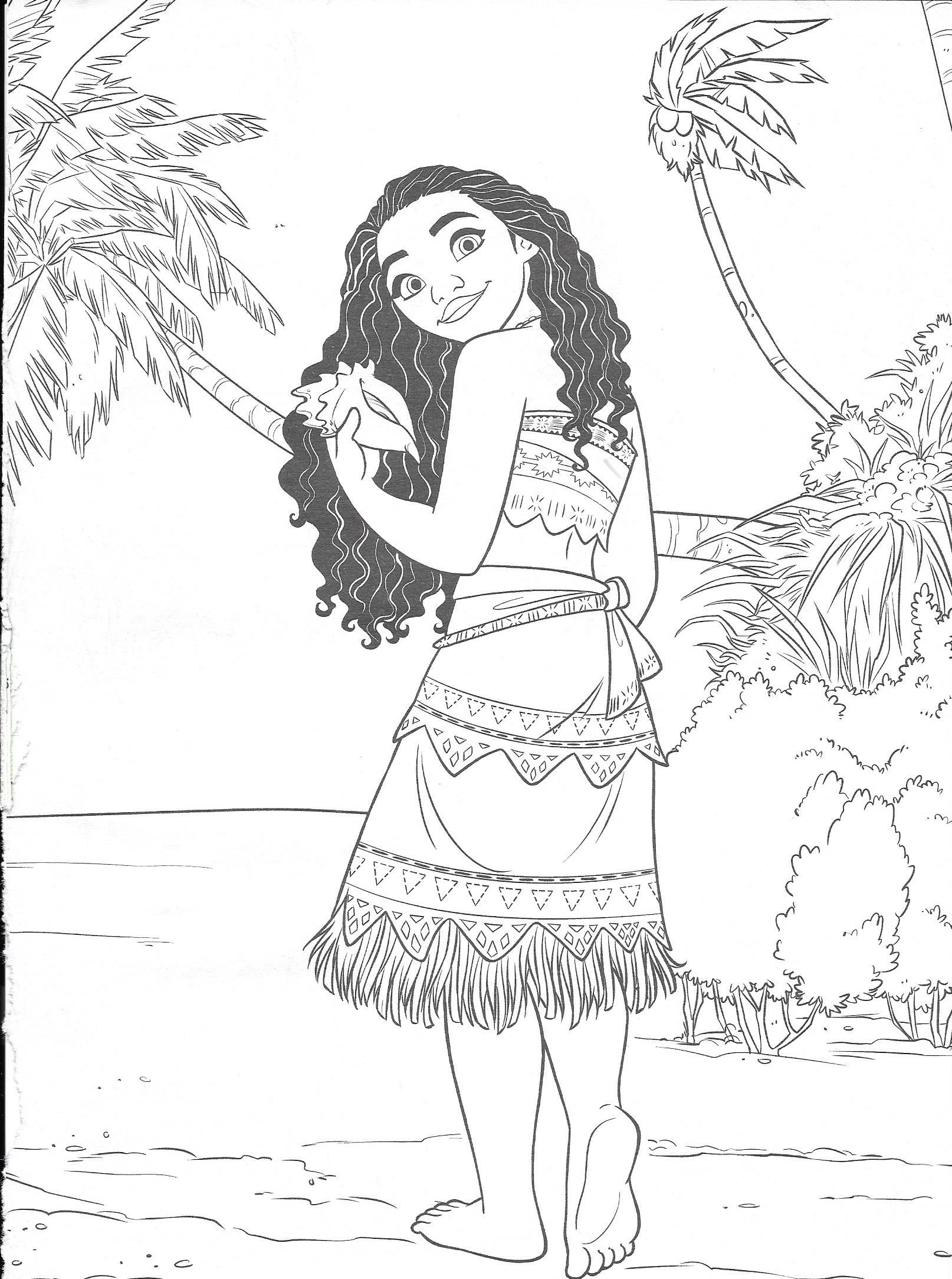 Pin By Safa On Coloring Pages Moana Coloring Disney Coloring Pages Disney Paintings