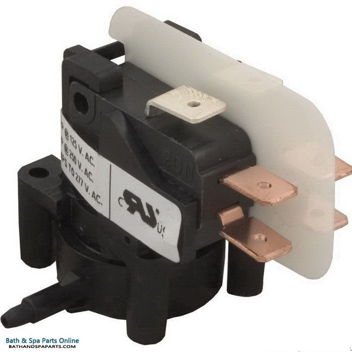 Tecmark Latching Air Switch Dpdt 25a Tbs 417 Vacuum Switch