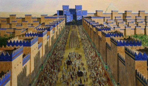 The Formation Of Ancient Babylon Ancient Babylon Ancient Buildings Ancient Mesopotamia