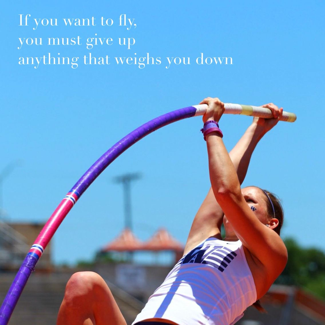Inspirational pole vault quote! http//buypolevaultpoles